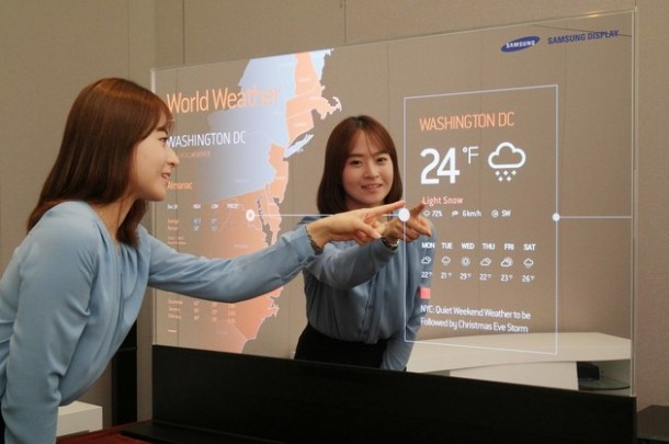 Samsung Unveils Mirror and Transparent OLED Panels 5