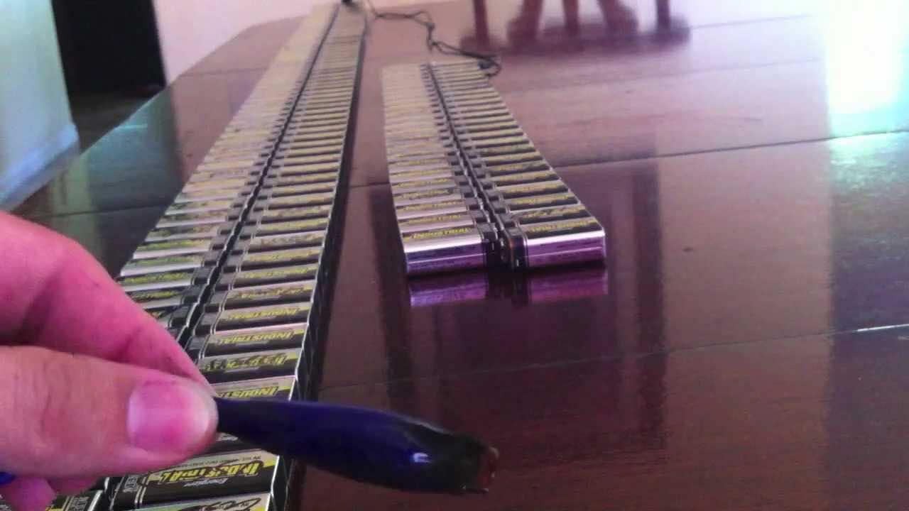 Short circuit 244 batteries