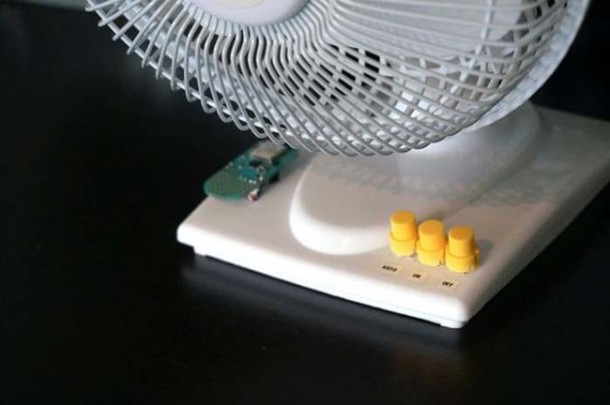 Smart HomeMade Fan Knows When To Turn On 5