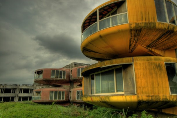 The UFO Houses in China Were Abandoned for THIS Reason 11