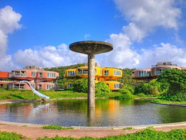 The UFO Houses in China Were Abandoned for THIS Reason 13