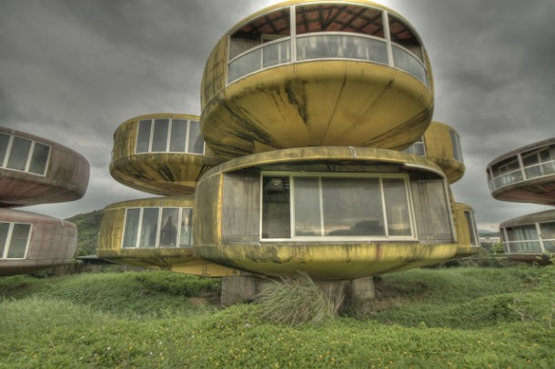 The UFO Houses in China Were Abandoned for THIS Reason 6
