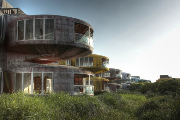 The UFO Houses in China Were Abandoned for THIS Reason
