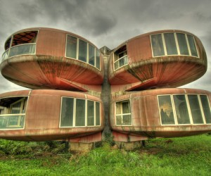 The UFO Houses in China Were Abandoned for THIS Reason 8