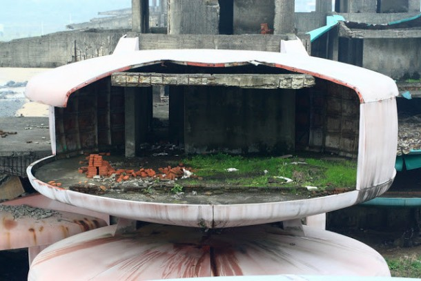 The UFO Houses in China Were Abandoned for THIS Reason 9