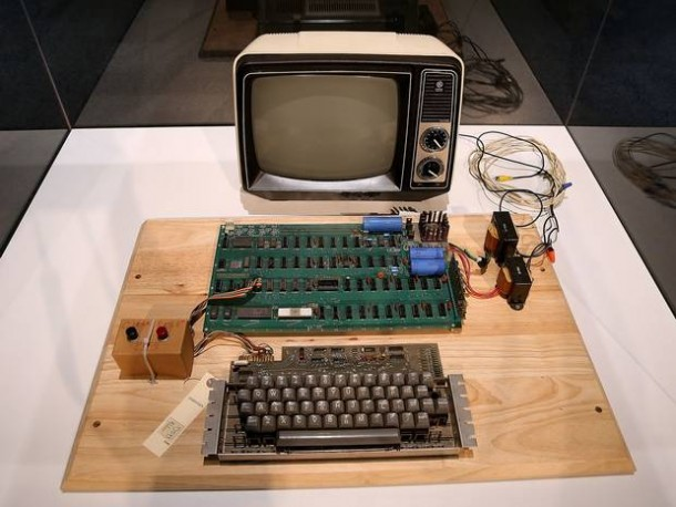 This Woman Almost Recycled 1st Generation Apple Computer 3