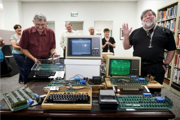 This Woman Almost Recycled 1st Generation Apple Computer2