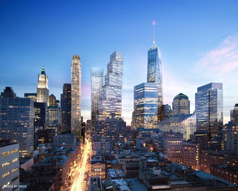 Two World Trade Center Design by BIG 7
