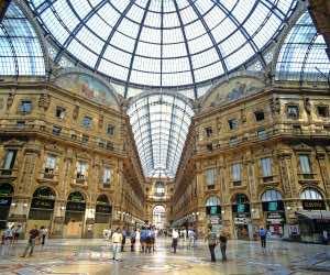 AGK0AB Galleria Vittorio Emanuele II Milan Italy
