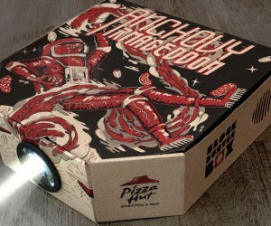 pizza hut projector