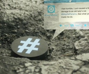 potholes tweeting device