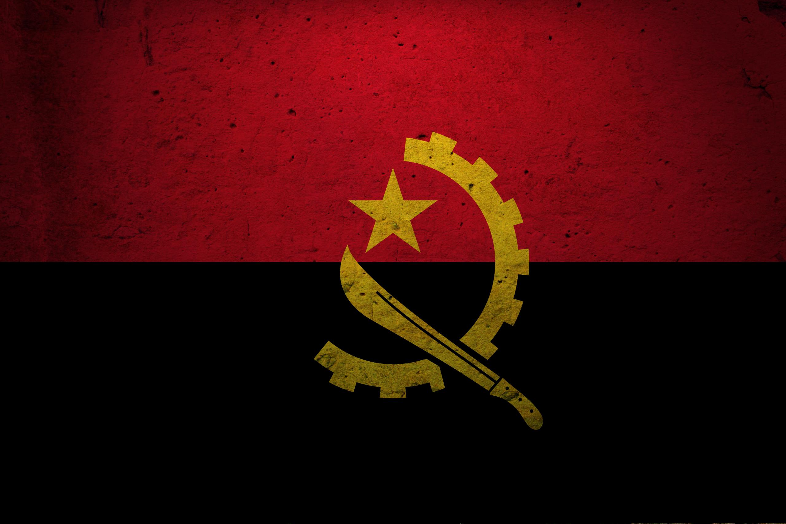 Angola Flag Png