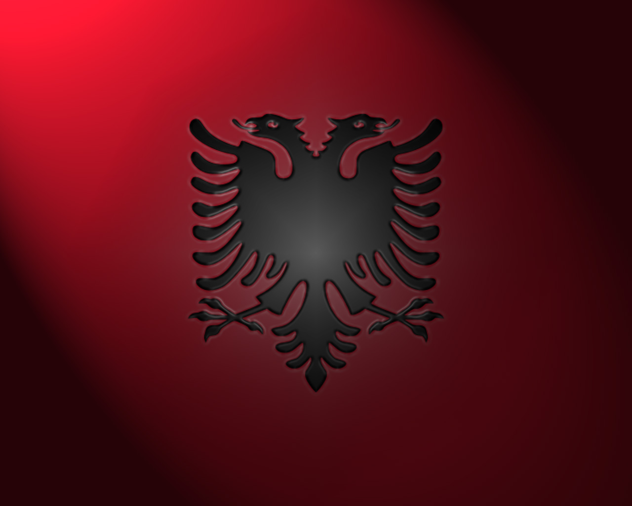 Albania Flag Wallpaper Hd
