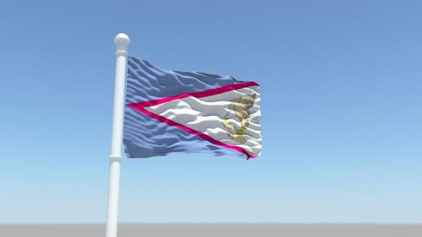 American Samoa Flag  (8)