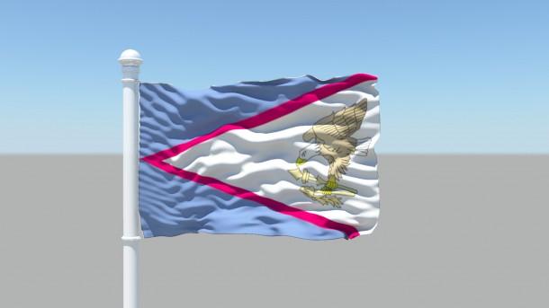American Samoa Flag  (9)