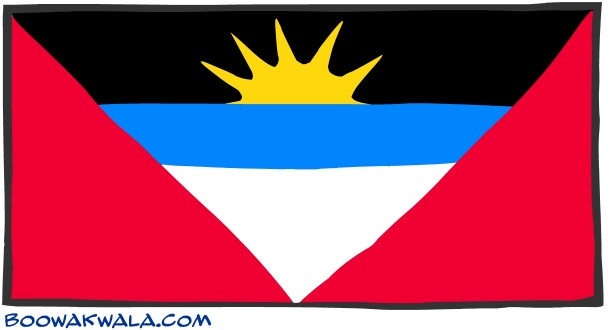 Antigua and Barbuda Flag  (14)