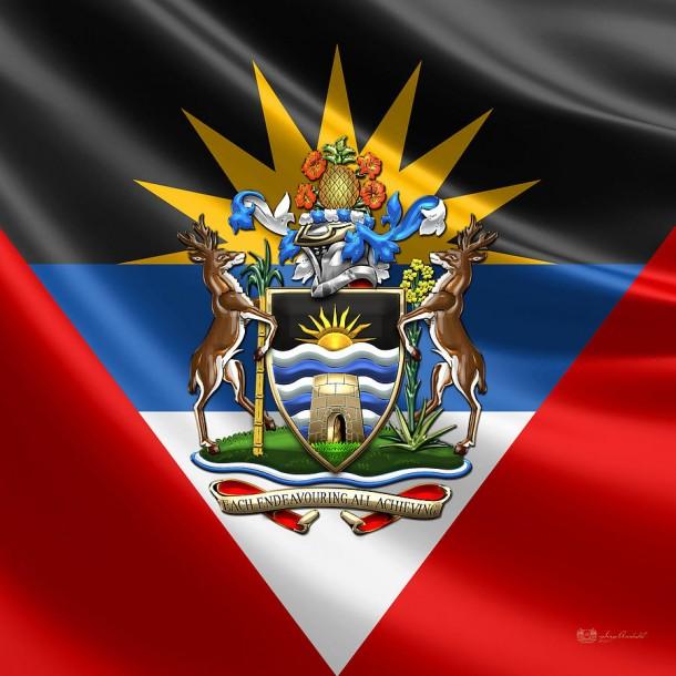 Antigua and Barbuda Flag  (15)