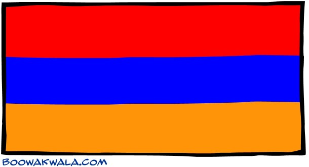 Armenia Flag  (4)