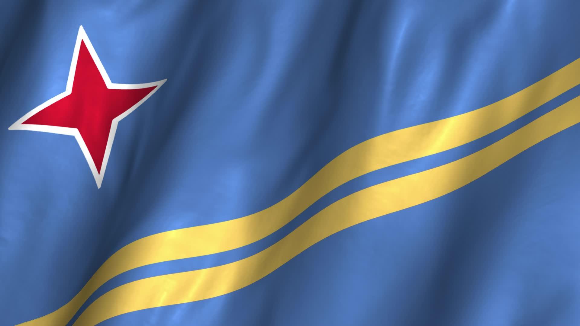 Aruba Flag Gif