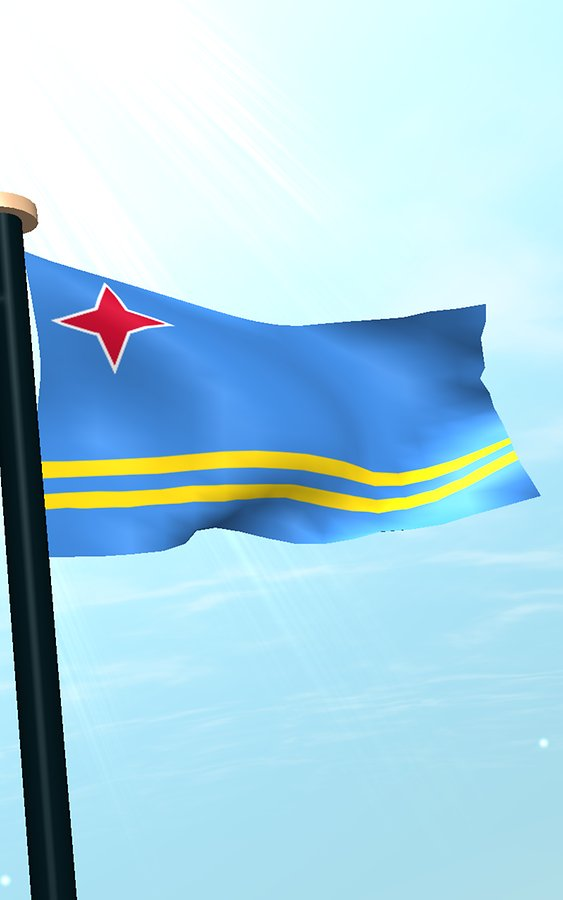 Aruba Flag  (10)