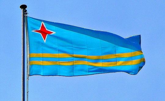 Aruba Flag  (13)