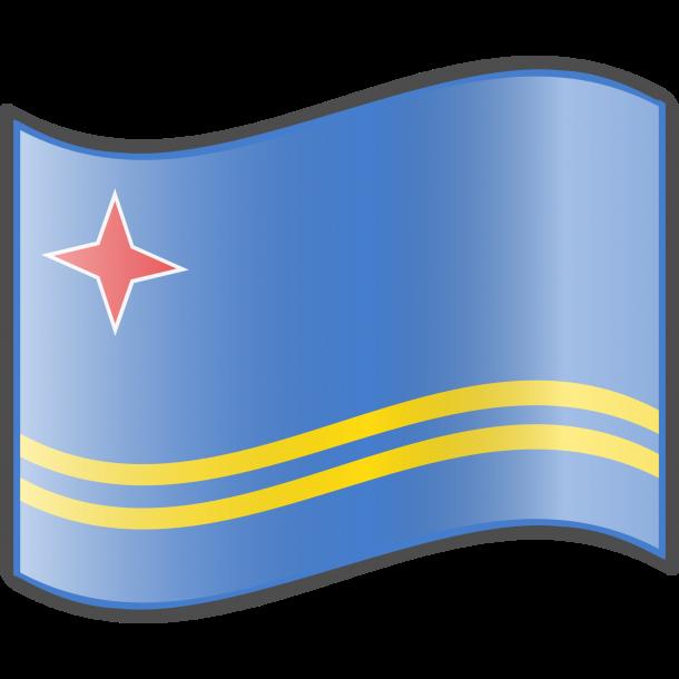 Aruba Flag  (2)