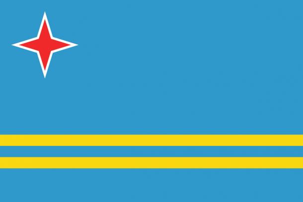 Aruba Flag  (3)