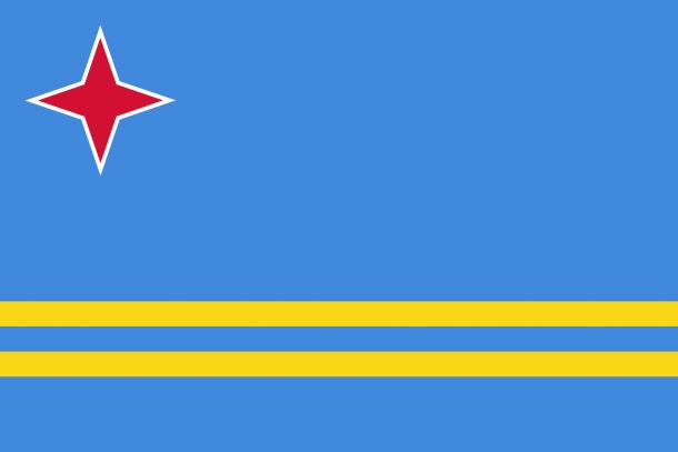 Aruba Flag  (4)