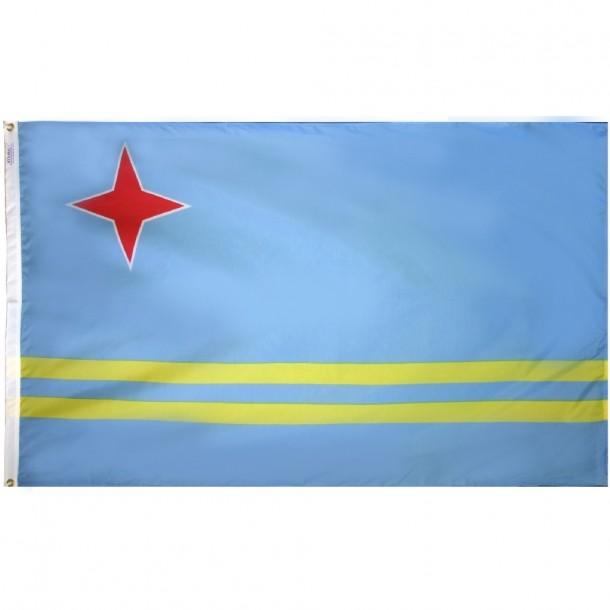 Aruba Flag  (5)