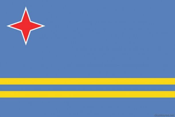 Aruba Flag  (6)