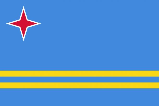 Aruba Flag  (8)
