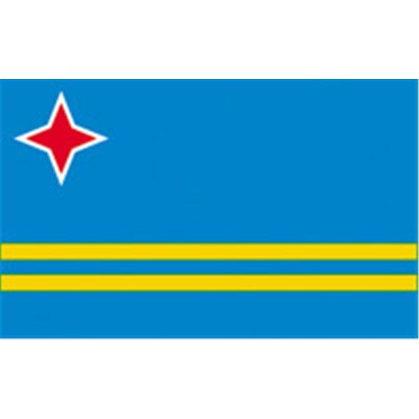 Aruba Flag  (9)