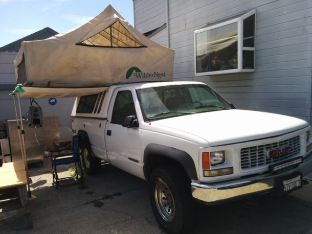 Awesome DIY adventure truck