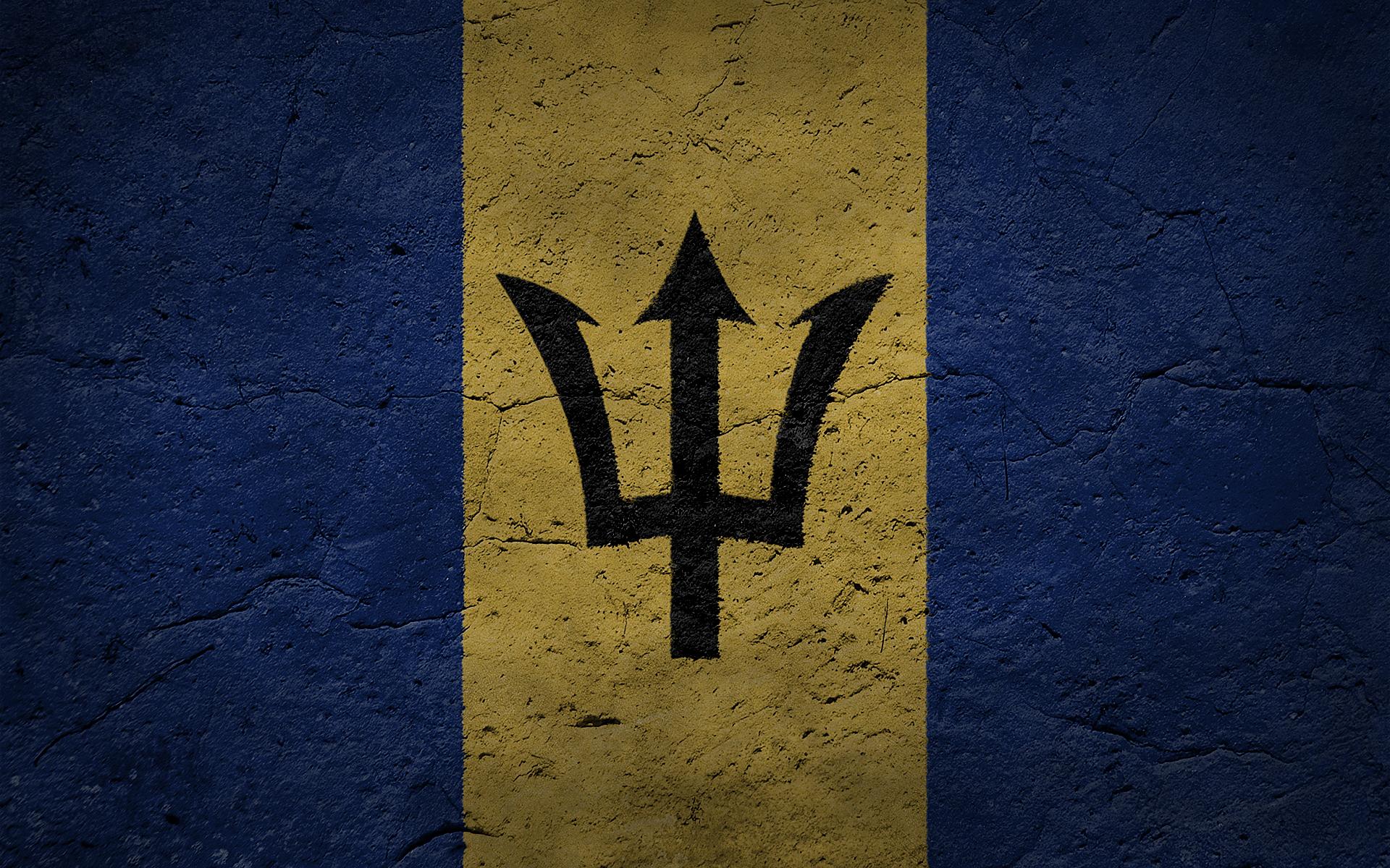 Barbados Flag Wallpaper