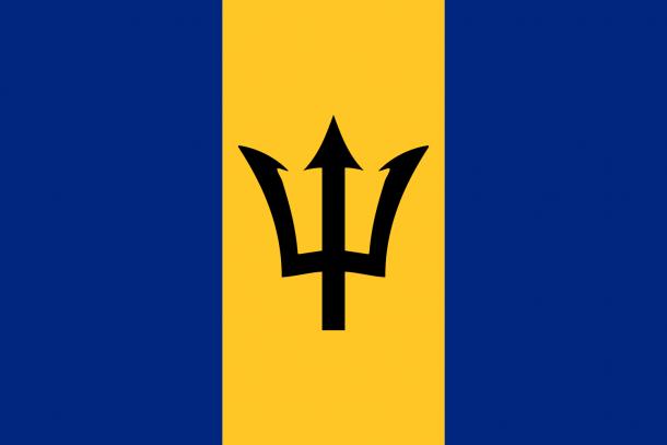 Barbados flag  (2)
