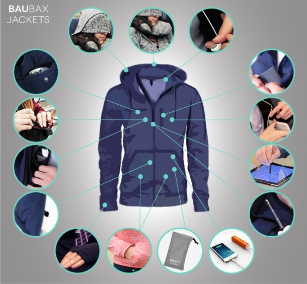 Baubax travel jacket