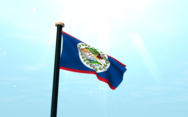 Belize Flag  (4)