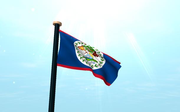 Belize Flag  (4)