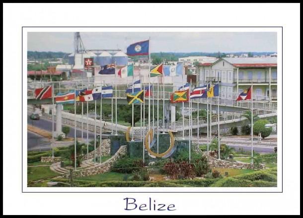 Belize Flag  (5)