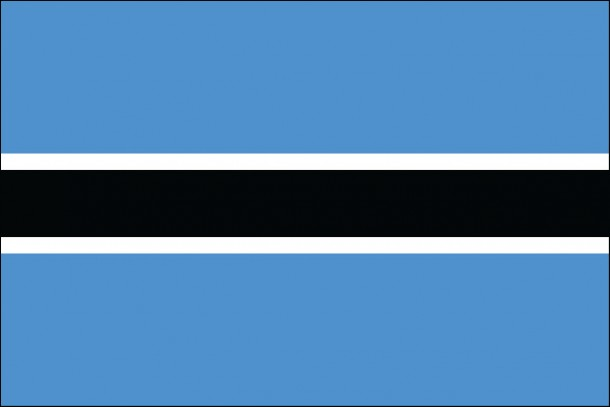 Botswana flag (11)