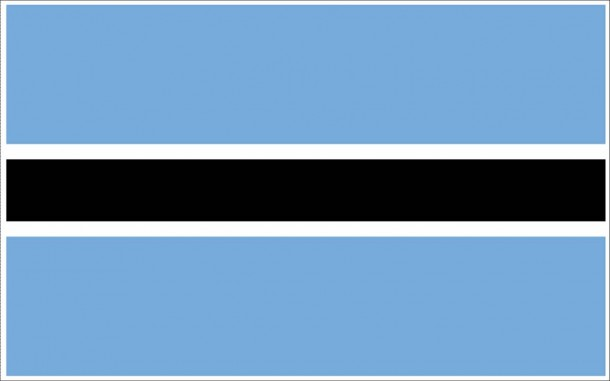 Botswana flag (12)