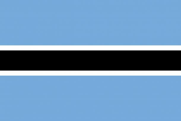 Botswana flag (13)