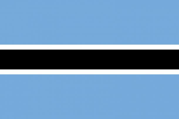 Botswana flag (14)