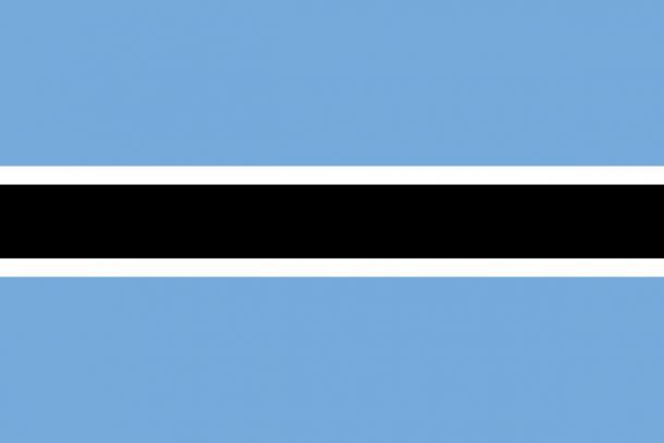 Botswana flag (15)