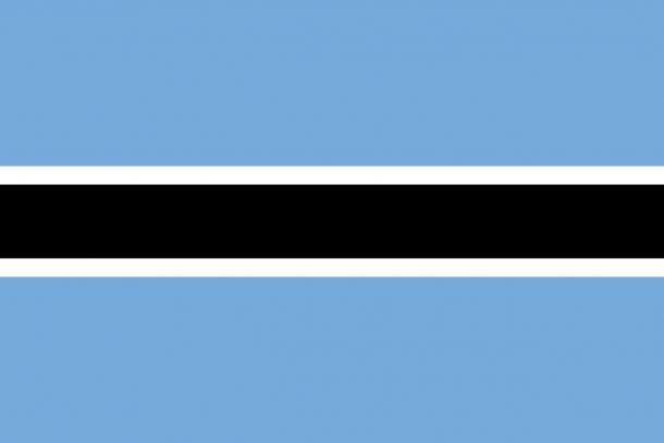 Botswana flag (16)