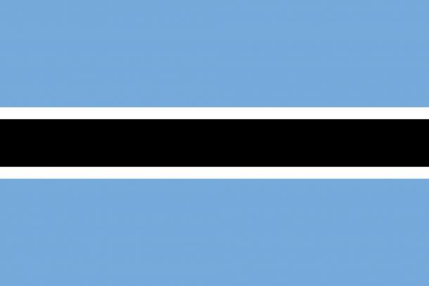 Botswana flag (17)