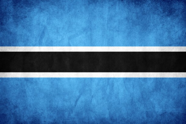 Botswana flag (7)