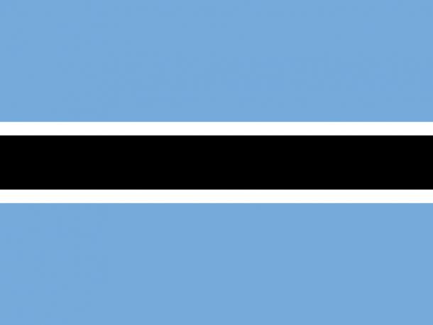 Botswana flag (9)