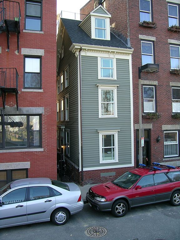 Check Out The World's Narrowest Buildings