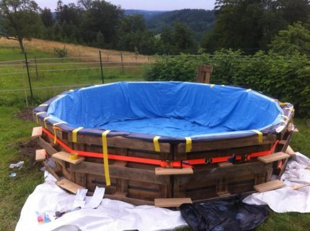 DIY Backyard Swimming Pool 4